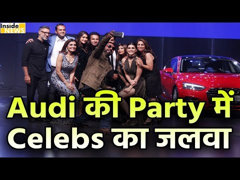 Audi India Host a Grand Night Party in Mumbai | Arjun Kapoor | Ileana D'cruz