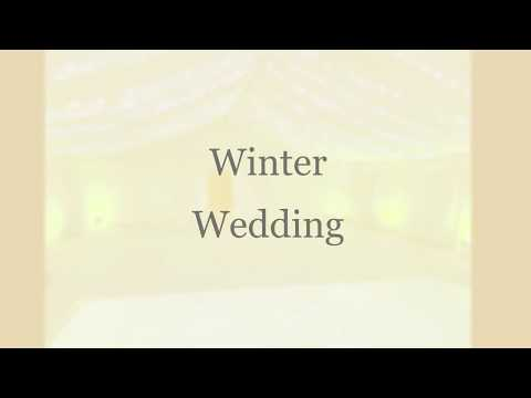 Winter Wedding Marquee