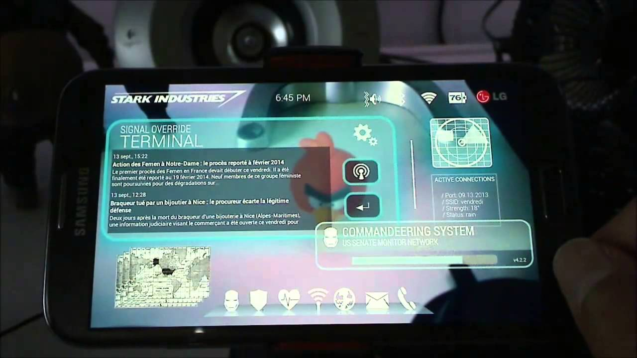 Utter Voice Command Galaxy Note 2 Jarvis Iron Man Phone