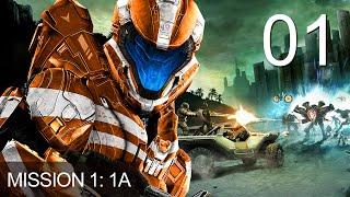 Halo Spartan Strike Mission 1-A Gameplay Walkthrough