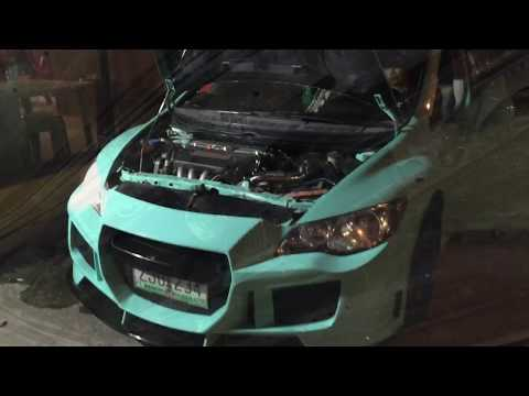 Honda Civic air intake and exhaust system DRIFT XAUST
