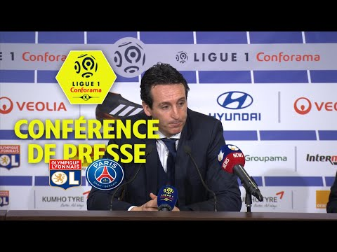 Conférence de presse Olympique Lyonnais - Paris Saint-Germain (2-1) / 2017-18