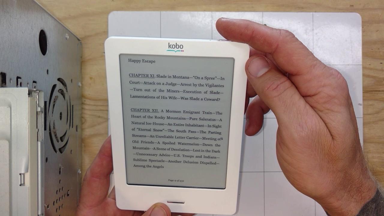Kobo touch 2. 0 e-reader review.