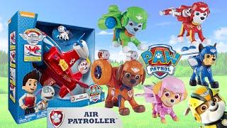 Щенячий Патруль на русском - Котострофа где наши Рюкзачки? Paw Patrol Air Patroller Air pups toys.