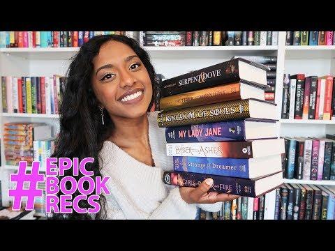 MY FAVORITE YA FANTASY BOOKS ⚔️✨ ft. thisstoryaintover | #EpicBookRecs