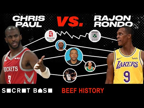 Chris Paul and Rajon Rondo envy each other, hate each other, and almost got traded for each other