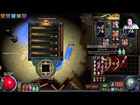 Cyclone Cast on melee kill dual wield build guide!!