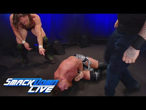 Daniel Bryan and Rowan attack Buddy Murphy: SmackDown LIVE, Aug. 20, 2019