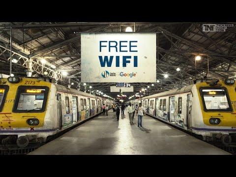 Free Wifi on Railway Station   How to use free wifi   India   Mumbai