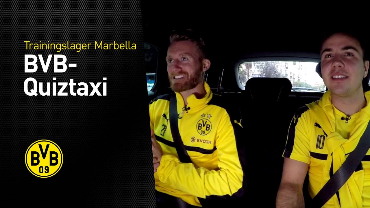 BVB-Quiztaxi in Marbella - Teil 2 | Marbella 2017