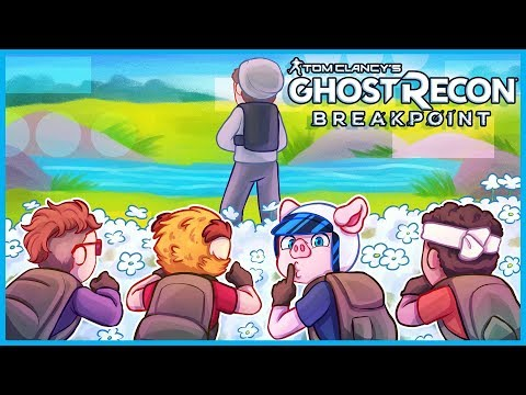 We caught the enemy with their pants down...LITERALLY 😂 (Ghost Recon Breakpoint Funny Moments)