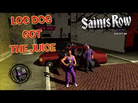 "LOC DOG GETTING RESPECT IN THE STREETS! ( FUNNY ""SAINTS ROW"" GAMEPLAY #19)"