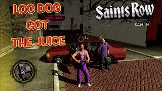"""LOC DOG GETTING RESPECT IN THE STREETS! ( FUNNY """"SAINTS ROW"""" GAMEPLAY #19)"""