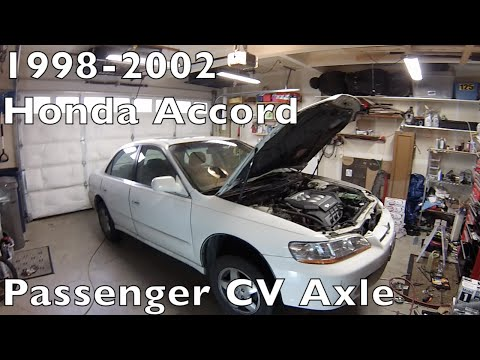 Honda Accord-CV Axle/halfshaft replace-1998 to 2002