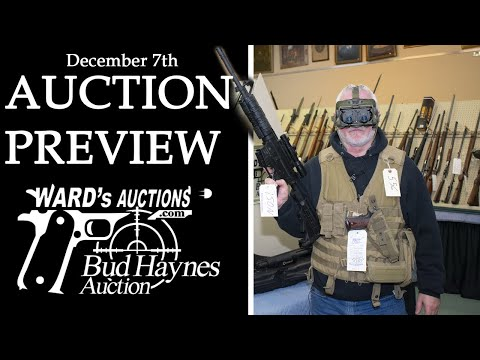 Ward's Auctions December 7th Firearms Preview