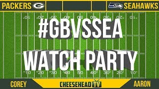 CHTV Packers Watch Party: Packers vs Seahawks