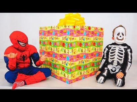 Vlad And Nikita Choose Gift Toys For Roma