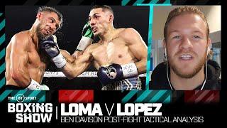 """""""It wasn't just size"""" Ben Davison on why Teofimo Lopez shocked Vasyl Lomachenko in stunning win"""