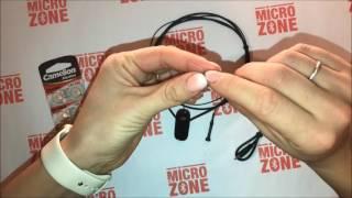 Обзор микронаушника 4 мм+ Bluetooth гарнитура с выведенным микрофоном «Gold»
