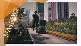 Viral Video Animasi Patung Jendral Soedirman Cegah Mobil Masuk Jalur Busway