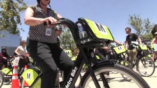 Caltrans Supports Bike Share