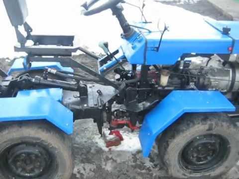 Почвофреза своими руками для трактора т-25