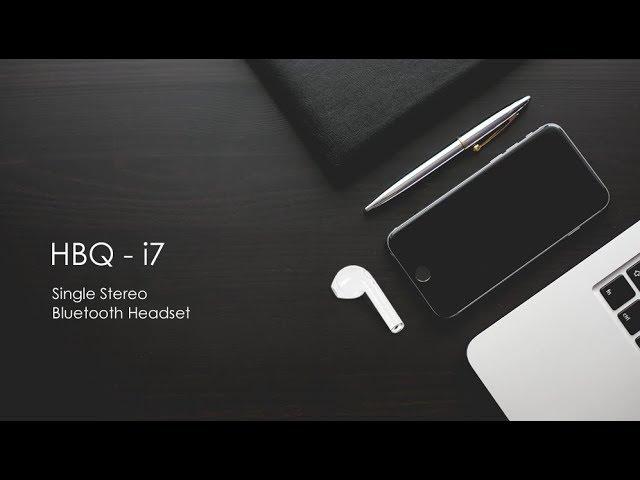 HBQ i7 TWS Twins Wireless Earbuds - YouTube 70d9fb2ce6c64