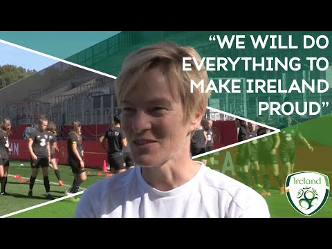 "#IRLWNT | Vera Pauw | ""We will do everything to make Ireland proud"""