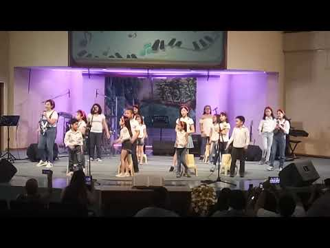 "CFC Kids Choir Sings ""Jesus Put A Song In My Heart"""