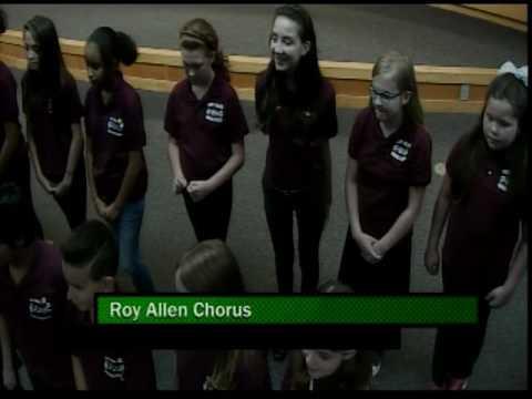 Roy Allen Elementary Music Program Performance