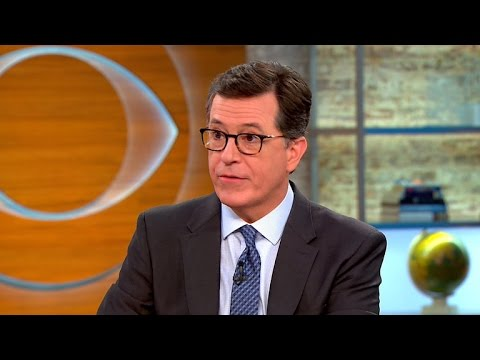 "Stephen Colbert on live ""Late Show"" during political conventions"