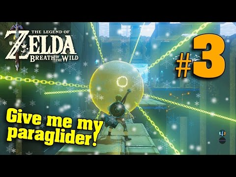 GIVE ME MY PARAGLIDER!!! The Legend of Zelda Breath of the W
