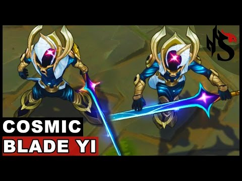 Cosmic Blade Master Yi Skin Spotlight (League of Legends)