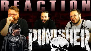 Marvel's The Punisher | Official Trailer REACTION!!