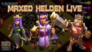 "Lets Play Clash of Clans #144""MAXED HELDEN ONLY AG+6,9K DEX IN EINEM ANGRIFF""[HD] GER/DEUTSCH HD"