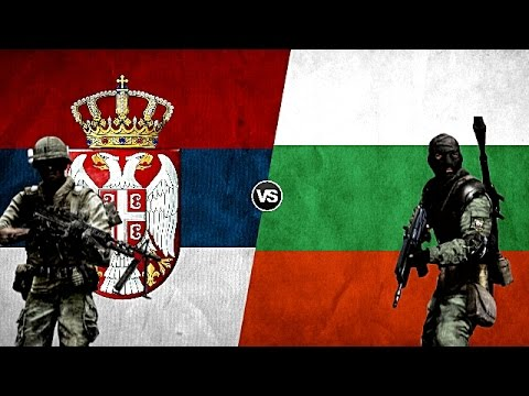 SERBIA VS BULGARIA - Military Power Comparison 2017
