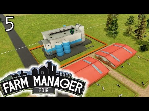 Industrial Food Production - FARM MANAGER 2018 GAMEPLAY #5