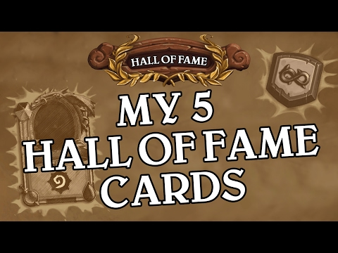 The 5 Cards That Actually Belong In The Hall Of Fame - Hearthstone