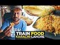 Train ka Khana | GreenLine AC Business Class Coach | Pakistan Railway | Pakistani Street Food