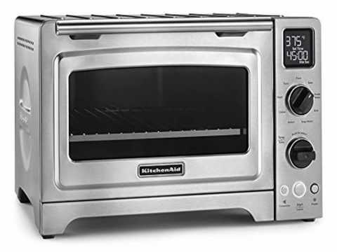 Kitchenaid Countertop Oven Youtube : KitchenAid KCO273SS Digital Convection Oven, Stainless Steel Reviews ...