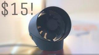 $15 Ultra Quiet USB Desk Fan!