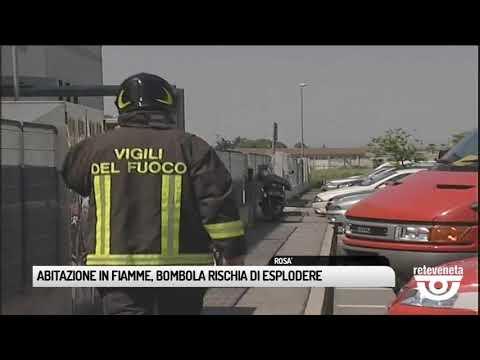 TG BASSANO (19/06/2019) - ABITAZIONE IN FIAMME, BO...