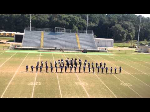 Jefferson County Middle High School Mighty Tiger Band 2014 FBA Marching Evaluation