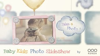 Baby Kids Photo Slideshow ( After Effects Template ) ★ AE Templates
