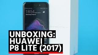 Unboxing: Huawei P8 Lite 2017 (Español)