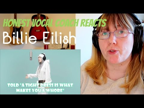 Vocal Coach Reacts to Billie Eilish - idontwannabeyouanymore  at COLORS