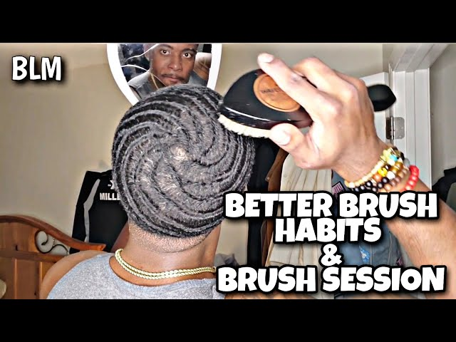 #WAVEITURE101: HOW TO BETTER BRUSH YOU 360 WAVES & 360 SWIRL + BRUSH SESSION