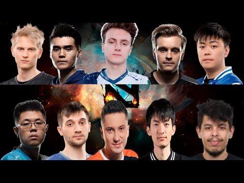 видео: Матч всех ЗВЁЗД на ti8 (Мод МУТАЦИЯ) | team burning vs team rotk | the international 2018