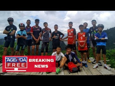 Missing Thai Boys Found Alive in Cave - LIVE BREAKING NEWS COVERAGE