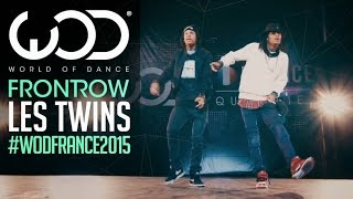 Les Twins | FRONTROW | World of Dance France Qualifier 2015 | #WODFrance